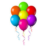 Colorful Balloons Bouquet Stock Images