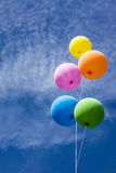 Colorful Balloons Bunch Royalty Free Stock Photography