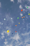 Colorful balloons Royalty Free Stock Photography