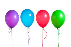 Colorful balloons group Stock Photo
