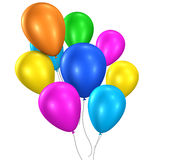 Colorful Balloons Happy Birthday Party Stock Photography
