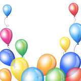 Colorful balloons Stock Image