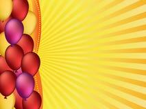 Colorful balloons illustration Stock Photo