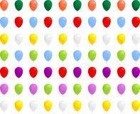 Colorful balloons. Inflatable balloons in several colors for your use Royalty Free Stock Image