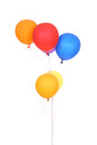 Colorful balloons. Isolated on a white background stock image