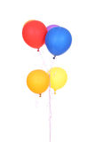 Colorful balloons. Isolated on a white background royalty free stock images