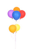 Colorful balloons. Isolated on a white background stock photo
