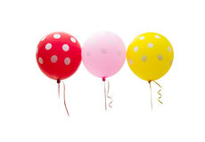 Colorful balloons isolated Royalty Free Stock Image