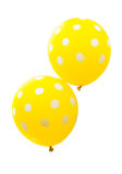colorful balloons isolated Royalty Free Stock Photography