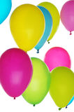 Colorful balloons on light background Stock Photos