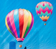 Colorful balloons painting Royalty Free Stock Image