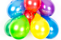 Colorful balloons. party decoration Stock Image