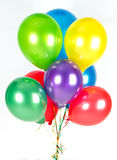 Colorful balloons. party decoration Stock Photo