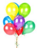Colorful balloons. party decoration Royalty Free Stock Image