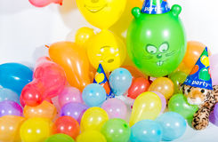 Colorful Balloons for Party Royalty Free Stock Photo