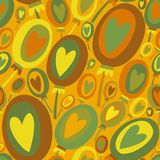 Colorful Balloons seamless pattern Royalty Free Stock Photo