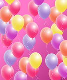Colorful Balloons set Stock Image