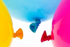 Colorful balloons. symbol of lightness, freihe Royalty Free Stock Images