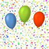 Colorful balloons Stock Photos
