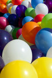 Colorful Balloons Tied Together At Sunny Outdoor Festival Fill F Royalty Free Stock Image