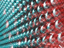 Colorful balls. Colorful shining balls background. Illustration made on computer Royalty Free Stock Images
