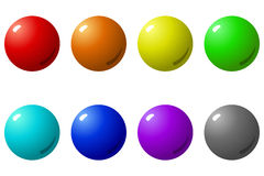 Colorful Balls Royalty Free Stock Image