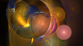 Colorful balls abstract background Royalty Free Stock Images
