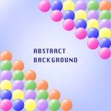 Colorful Balls Background vector illustration