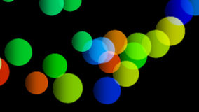 Colorful balls bouncing from the ground - seamless loop animation. Colorful balls bouncing from the ground - seamless loop vector illustration