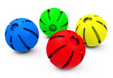 The colorful balls Royalty Free Stock Image