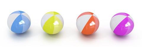 Multicolored balls Royalty Free Stock Photos