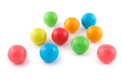 Colorful balls gum Royalty Free Stock Image
