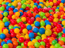 Colorful balls in Playground ball swimming pool for kids Royalty Free Stock Photography
