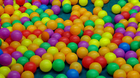 Colorful balls in playground Royalty Free Stock Images