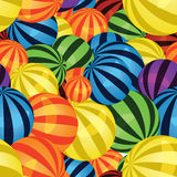 Colorful balls seamless Stock Photos