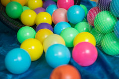 Colorful balls to play and fun Royalty Free Stock Images