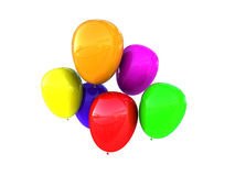 Colorful baloons Royalty Free Stock Images