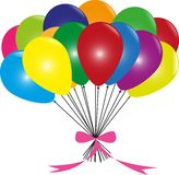 Colorful baloons Stock Photography