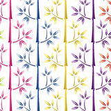 Colorful bamboo background Royalty Free Stock Photography