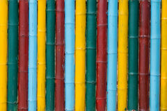 Colorful bamboo texture closeup Royalty Free Stock Photography