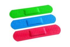 Colorful Bandages Royalty Free Stock Photo