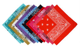 Colorful bandana Stock Photography