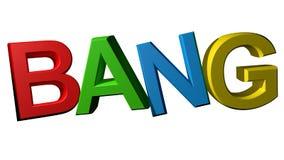 Colorful Bang Royalty Free Stock Image
