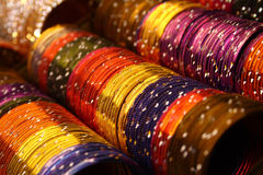 Colorful bangles Stock Photo