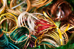 Colorful bangles Stock Images
