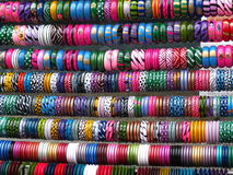 Colorful Bangles Stock Photos