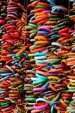 Colorful bangles Royalty Free Stock Photo