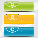 Colorful banner Stock Photos