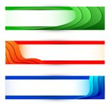 Colorful Banner Stock Image