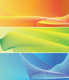 Colorful banner Stock Photography